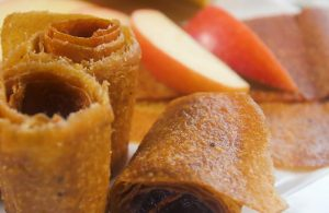 homemade apple fruit roll ups