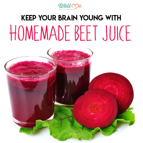 homemade beet juice title card