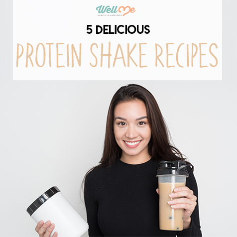 protein shake recipes title card