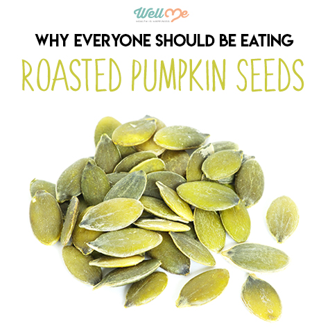 roasted pumpkin seeds title card
