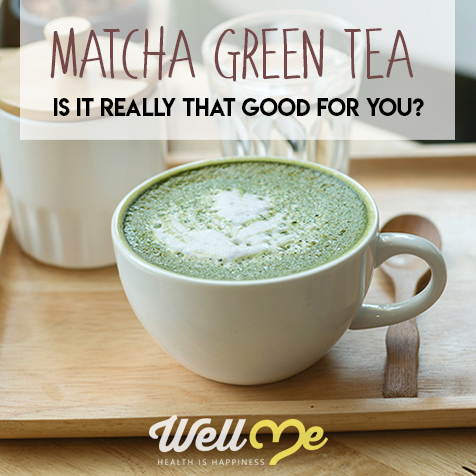 matcha green tea title card