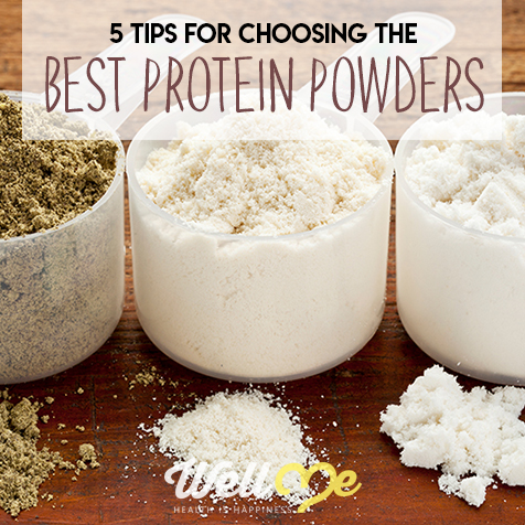 5 Tips for Choosing the Best Protein Powders