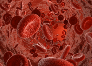 graphic of red blood cells