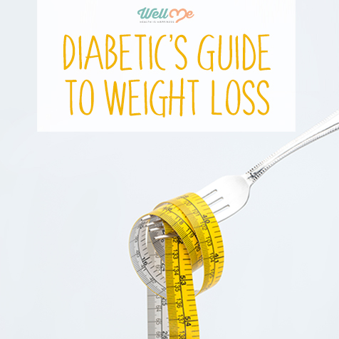diabetic weight loss title card