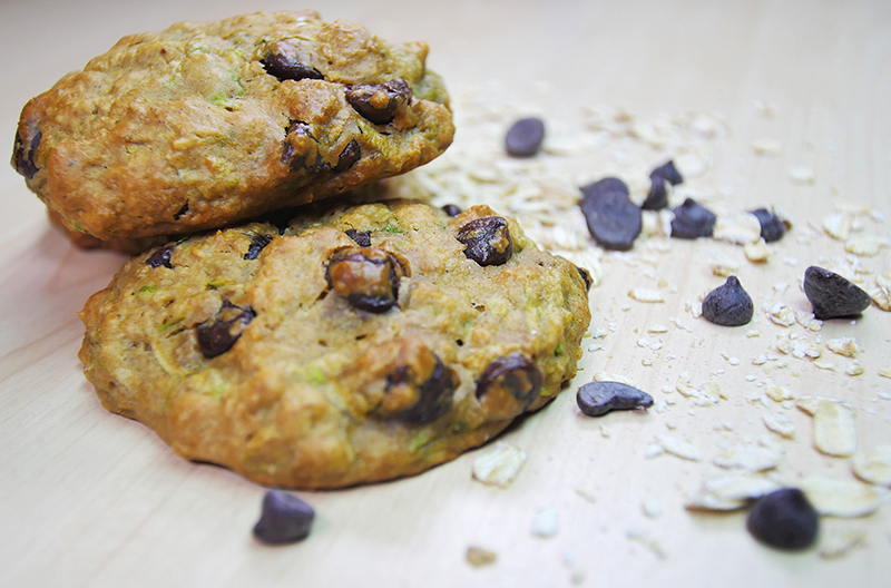 Want a Guilt-Free Snack? Try These Zucchini Oat Cookies