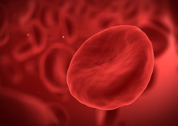 Graphic of a platelet