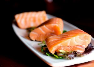 meal prep service delivers salmon fillets ready for cooking
