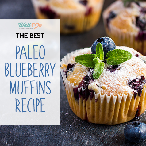 The Best Paleo Blueberry Muffins Recipe