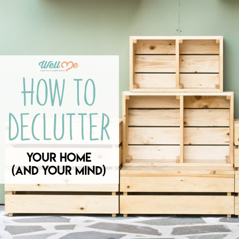 how to declutter your home and your mind