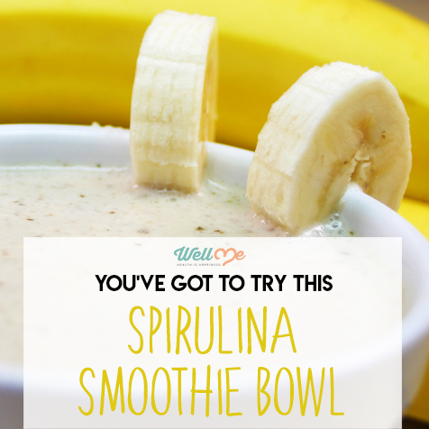 you've got to try this spirulina smoothie bowl