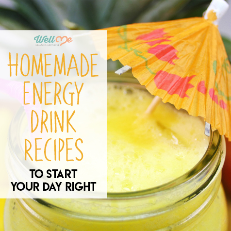 Homemade Energy Drink Recipes to Start Your Day Right