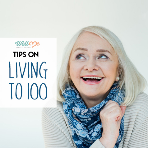 Tips on living to 100