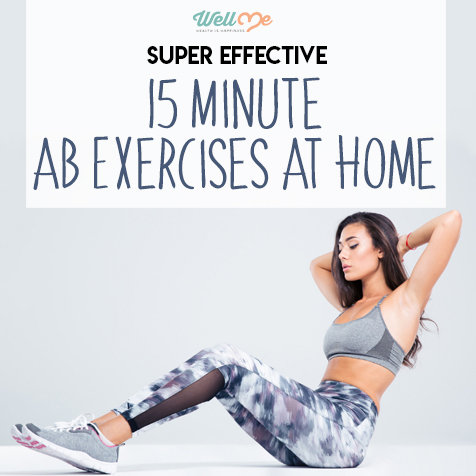 Super Effective 15-Minute Ab Exercises At Home