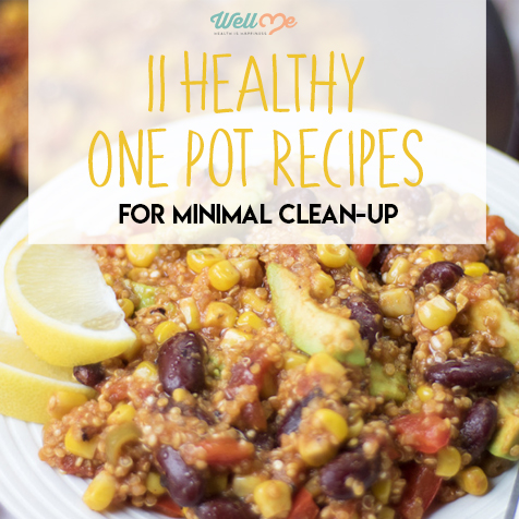 11 Healthy One Pot Recipes For Minimal Clean-Up