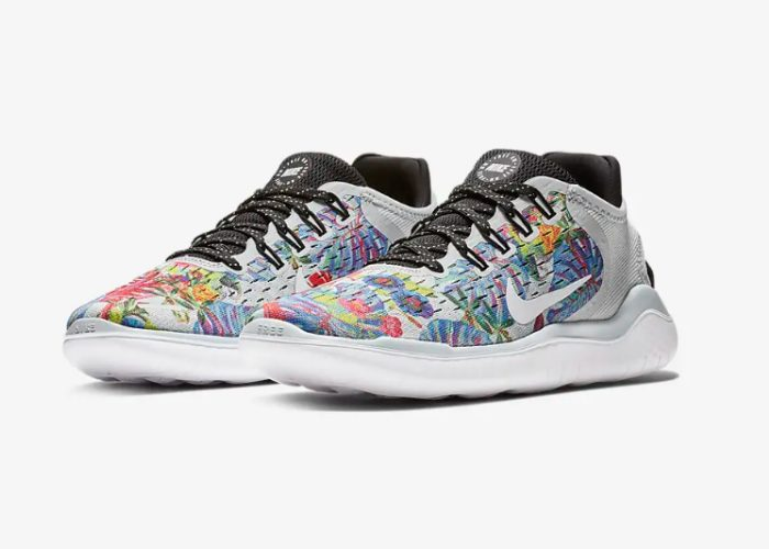 Nike Women's Free RN 2018 parkour shoes