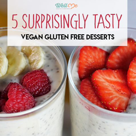 5 Surprisingly Tasty Vegan Gluten Free Desserts