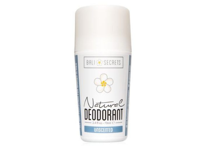 Bali Secrets Unscented Natural Deodorant for Women