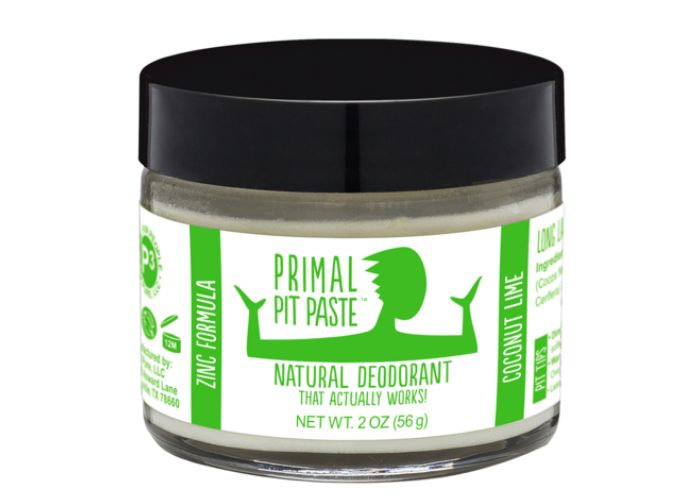 Primal Pit Paste Coconut Lime Natural Deodorant for Women