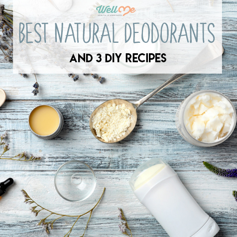 Best Natural Deodorants and 3 DIY Recipes