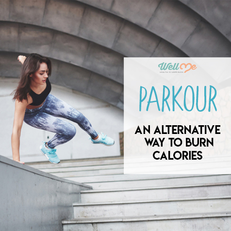 parkour an alternative way to burn calories
