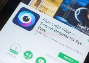 Blue Light Filter app for Android