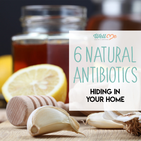 6 Natural Antibiotics Hiding in Your Home
