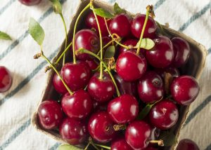 Tart cherries, one of the best healthy late night snacks