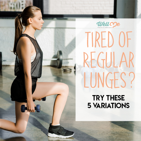 Tired of Regular Lunges? Try These 5 Variations