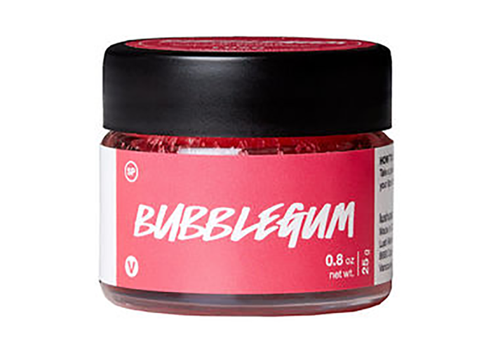 LUSH cruelty-free and vegan  Bubblegum Candy Confection Lip Scrub