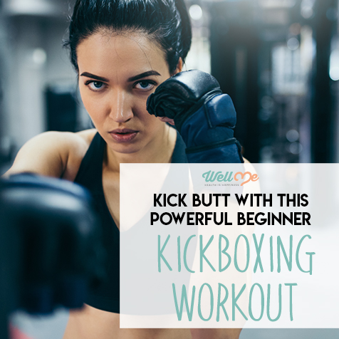 Kick Butt With This Powerful Beginner Kickboxing Workout
