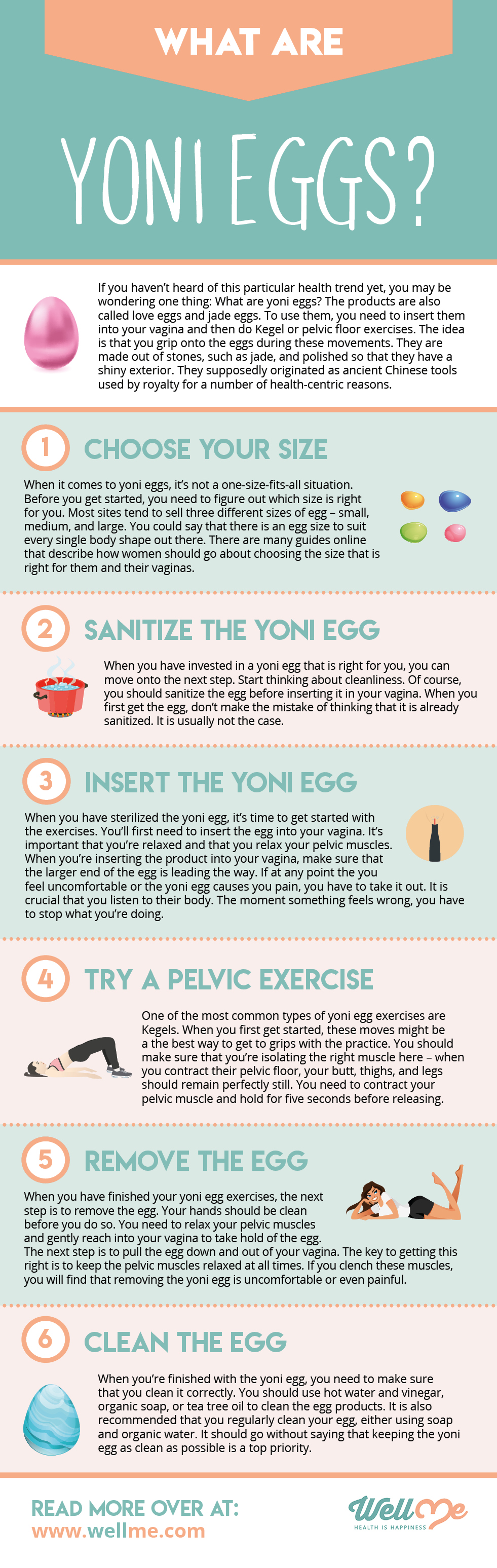 yoni eggs infographics