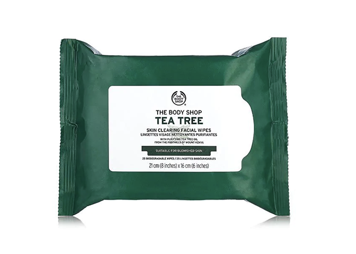 Best Blackhead Remover Wipes The Body Shop Tea Tree Skin Clearing Facial Wipes