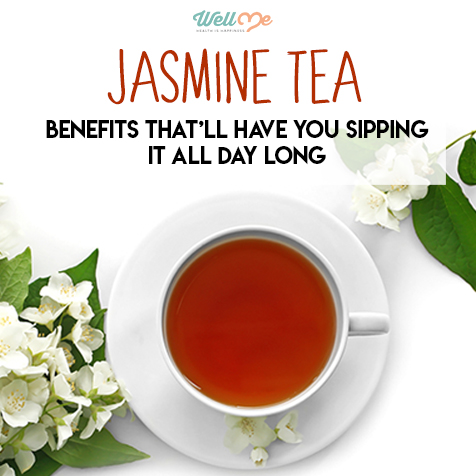 Jasmine Tea Benefits That'll Have You Sipping it All Day Long