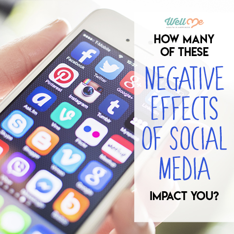 How Many of These Negative Effects of Social Media Impact You?