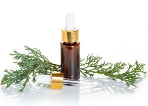cypress blends well with cedarwood essential oil