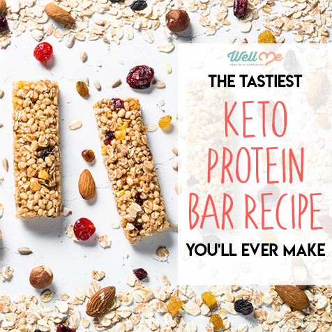 The Tastiest Keto Protein Bar Recipe You'll Ever Make