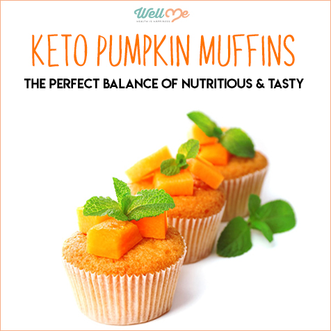 Keto Pumpkin Muffins: The Perfect Balance of Nutritious & Tasty