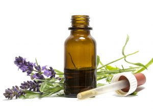 Essential oil blend with lavender and cedarwood.