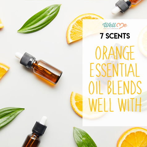 7 Scents Orange Essential Oil Blends Well With