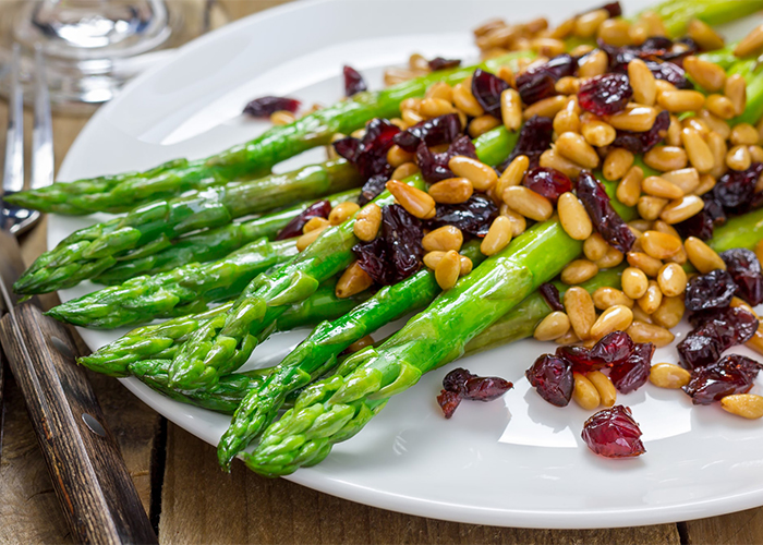 Paleo asparagus and beans