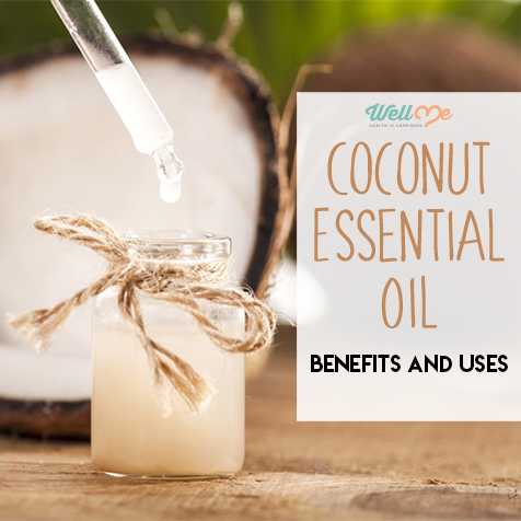 coconut essential oil title card