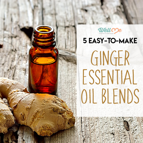 5 Easy-to-Make Ginger Essential Oil Blends