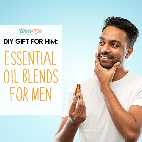 DIY Gift for Him: Essential Oil Blends for Men