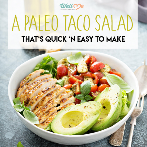 A Paleo Taco Salad That's 'N Easy to Make