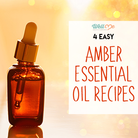 4 Easy Amber Essential Oil Recipes