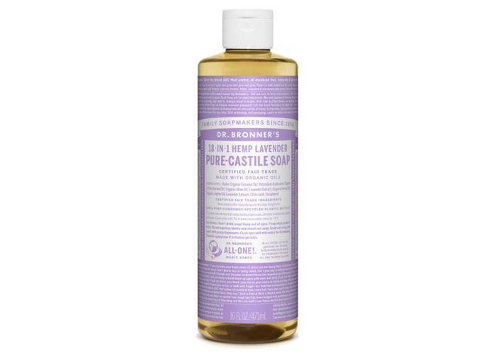 Dr. Bronner's 18-in-one Lavender Soap