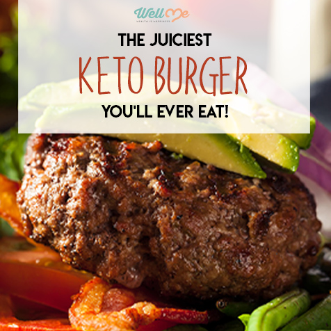 keto burger title card